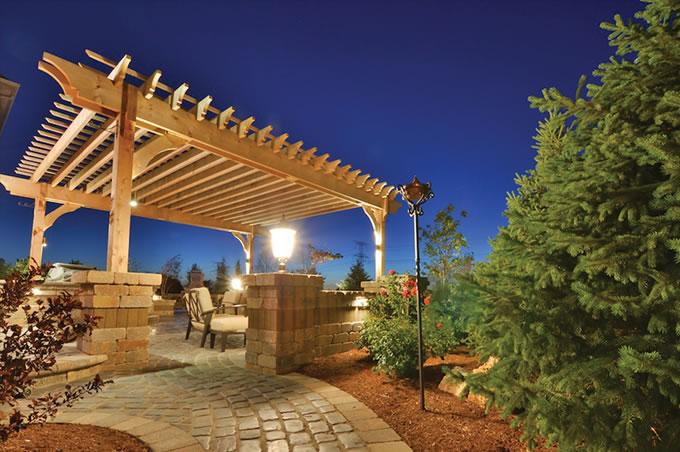 Landscape Hardscape Design Landscape Lighting Design